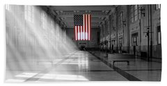 Union Station 2 - Kansas City Beach Towel by Mike McGlothlen