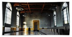 Beach Sheet featuring the photograph Union Station Los Angeles by Kyle Hanson