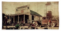 Beach Towel featuring the photograph Unionville Genral Store by Joel Witmeyer
