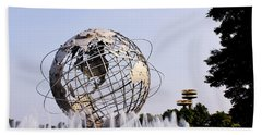 Unisphere Fountain Beach Towel