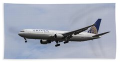United Airlines Boeing 767 Beach Sheet