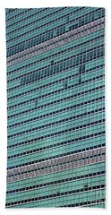 Beach Towel featuring the photograph United Nations 2 by Randall Weidner