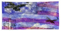 United States Armed Forces One Beach Sheet