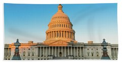 United States Capitol  Beach Towel