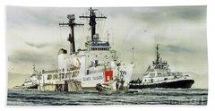 United States Coast Guard Boutwell Beach Sheet