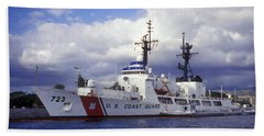 United States Coast Guard Cutter Rush Beach Towel