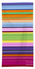 Unity Of Colour 7 Beach Sheet by Tim Gainey