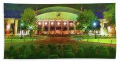 University Of Alabama Coleman Coliseum Beach Towel