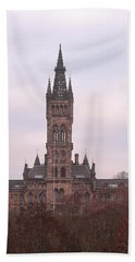 University Of Glasgow At Sunrise Beach Towel