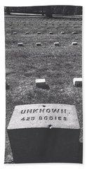 Unknown Bodies Beach Sheet