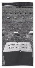Beach Towel featuring the photograph Unknown Bodies by Robbie Masso