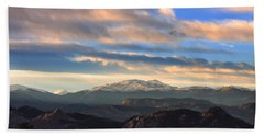 The Unmatched Beauty Of The Colorado Rockies Beach Towel