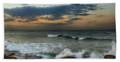 Unsettled Beach Towel