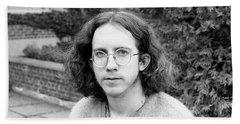 Unshaven Photographer, 1972 Beach Sheet