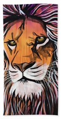 Beach Towel featuring the painting Untamed Goodness by Nathan Rhoads