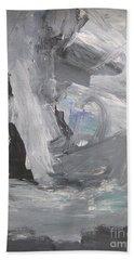 Untitled 124 Original Painting Beach Towel