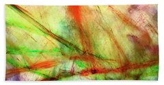 Untitled #140922, From The Soul Searching Series Beach Towel