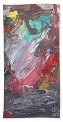 Untitled #38  Original Painting Beach Towel