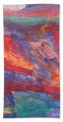 Untitled 95 Original Painting Beach Towel
