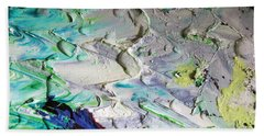 Untitled Abstract With Droplet ## Beach Sheet