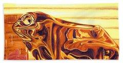 Untitled Beach Sheet by Judy Henninger