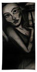 Untitled Lady IIi Beach Towel