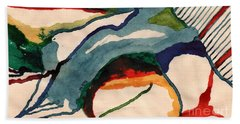 Untitledabstract Beach Towel