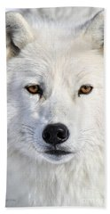 Beach Towel featuring the photograph Up Close And Personal by Heather King