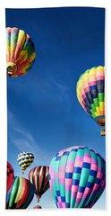 Up In A Hot Air Balloon 2 Beach Sheet