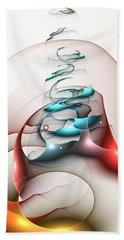 Beach Sheet featuring the digital art Up In The Air  by Anastasiya Malakhova