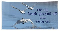 Up, Up And Away Carry On Beach Towel by DeeLon Merritt