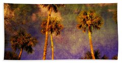 Up Up To The Sky Beach Towel
