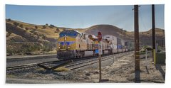 Beach Towel featuring the photograph Up7472 by Jim Thompson