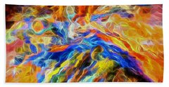 updated Our God is a Consuming Fire Beach Towel by Margie Chapman