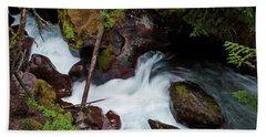 Upper Avalanche Creek Beach Towel