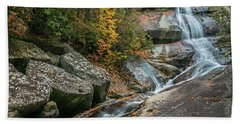 Upper Creek Falls Beach Towel