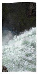 Upper Falls, Yellowstone River Beach Sheet