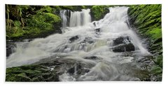 Upper Lunch Creek Falls Beach Towel