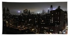 Beach Towel featuring the photograph Upper West Side by JoAnn Lense