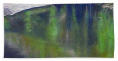 Upriver View Beach Towel
