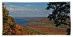Upstate Autumn Beach Sheet