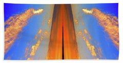 Upwards Two  Beach Towel by Lyle Crump