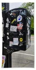 Urban Art Chicago Beach Sheet