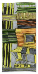 Urban Delight Beach Towel by Sandra Church