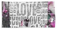 Urban Love Beach Towel