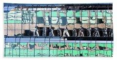 Urban Reflections Beach Sheet