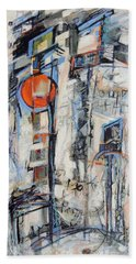 Urban Street 1 Beach Towel