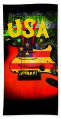 Usa Guitar Music Beach Sheet