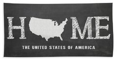 Usa Home Beach Towel
