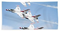 Usaf Thunderbirds Beach Towel